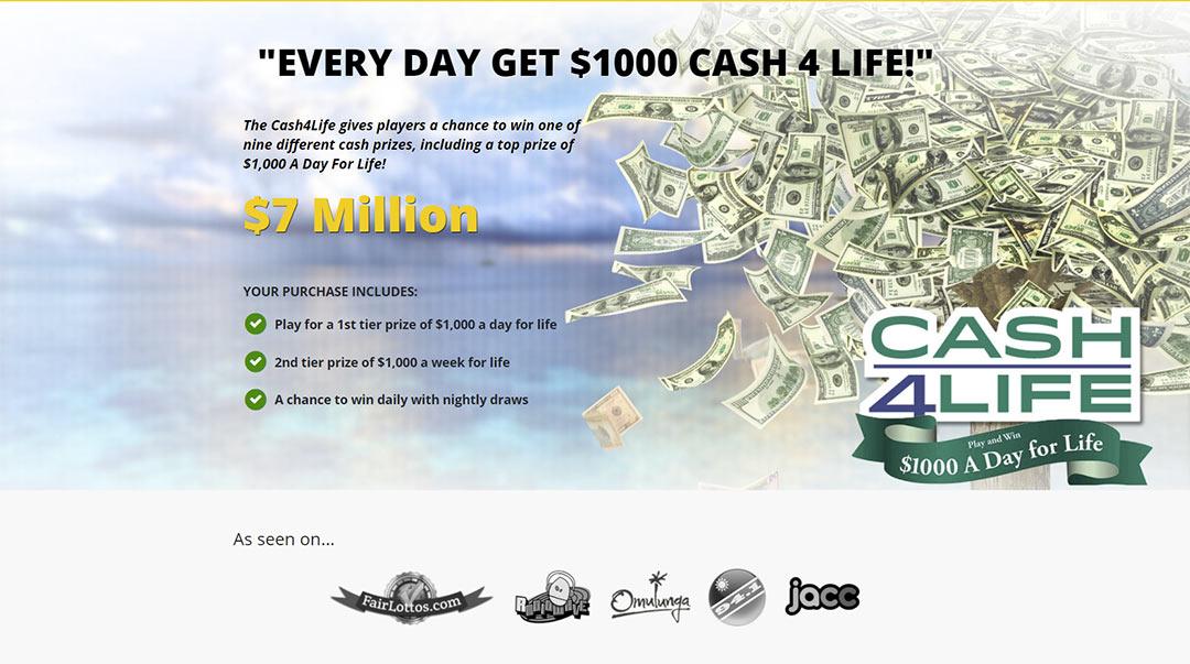 cash4life promo
