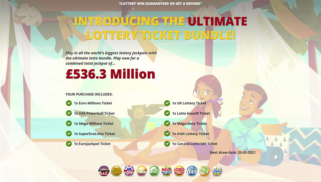 bulk lottery tickets, ultimate lotto promo